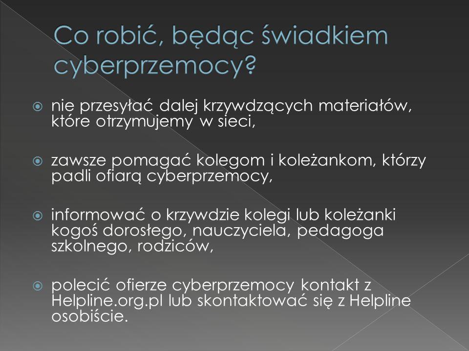 Co robić, będąc świadkiem cyberprzemocy