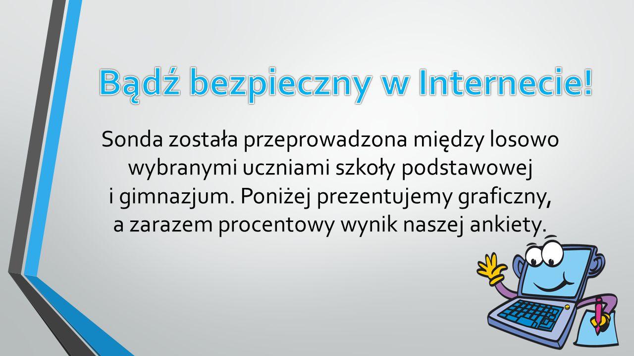Bądź bezpieczny w Internecie!