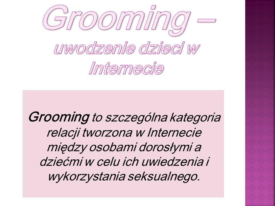 Grooming – uwodzenie dzieci w Internecie