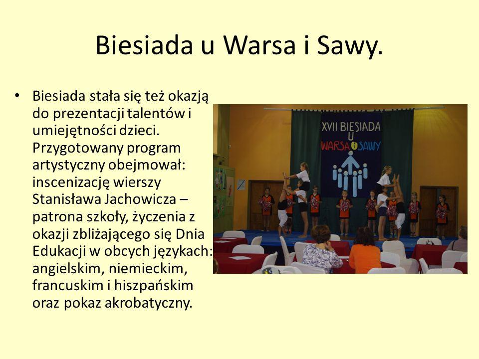Biesiada u Warsa i Sawy.