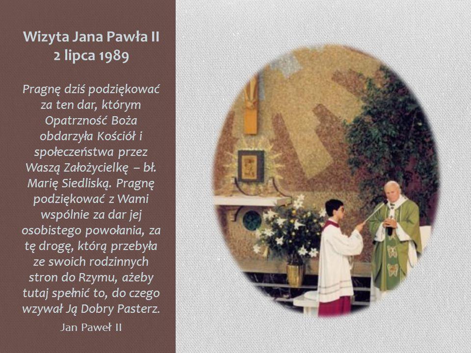 Wizyta Jana Pawła II 2 lipca 1989