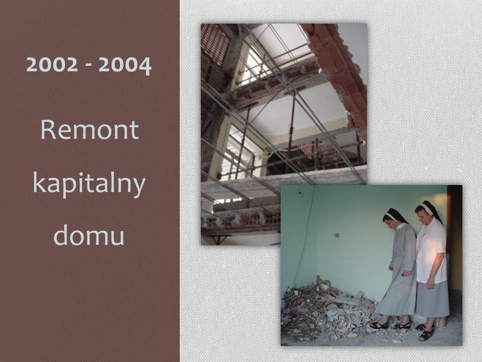 2002 - 2004 Remont kapitalny domu