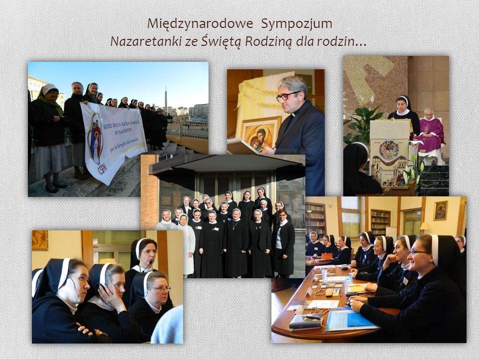Międzynarodowe Sympozjum Nazaretanki ze Świętą Rodziną dla rodzin…