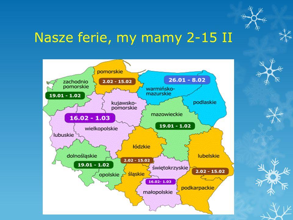 Nasze ferie, my mamy 2-15 II