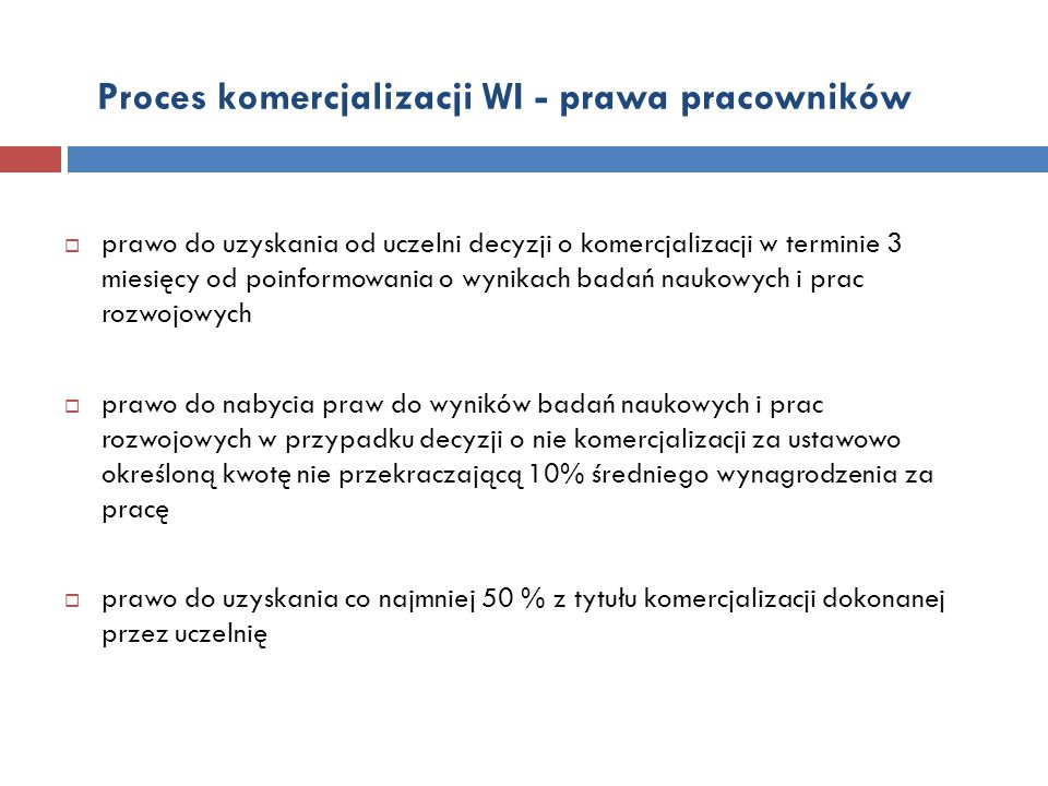 Proces komercjalizacji WI - prawa pracowników