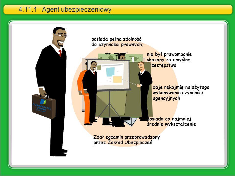 4.11.1 Agent ubezpieczeniowy