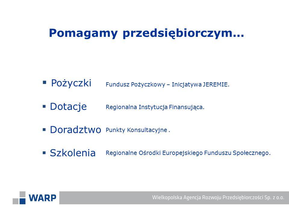 Regionalna Instytucja Finansująca.