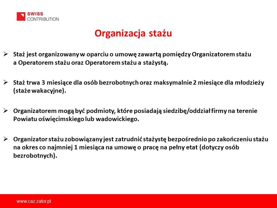 Organizacja stażu
