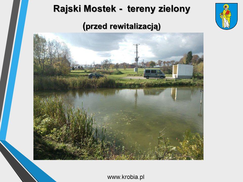 Rajski Mostek - tereny zielony (przed rewitalizacją)