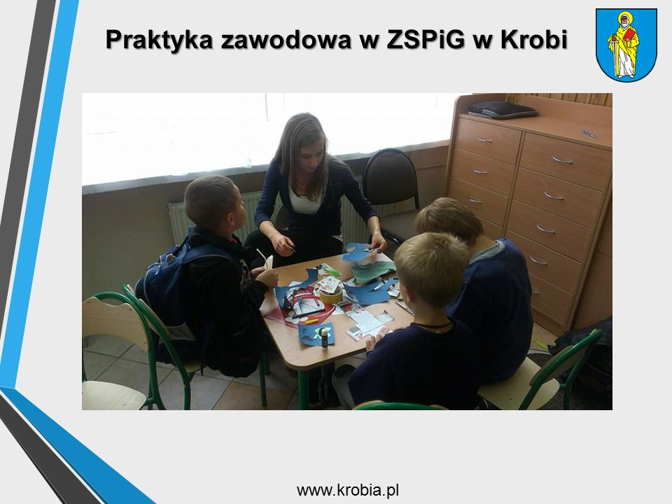 Praktyka zawodowa w ZSPiG w Krobi