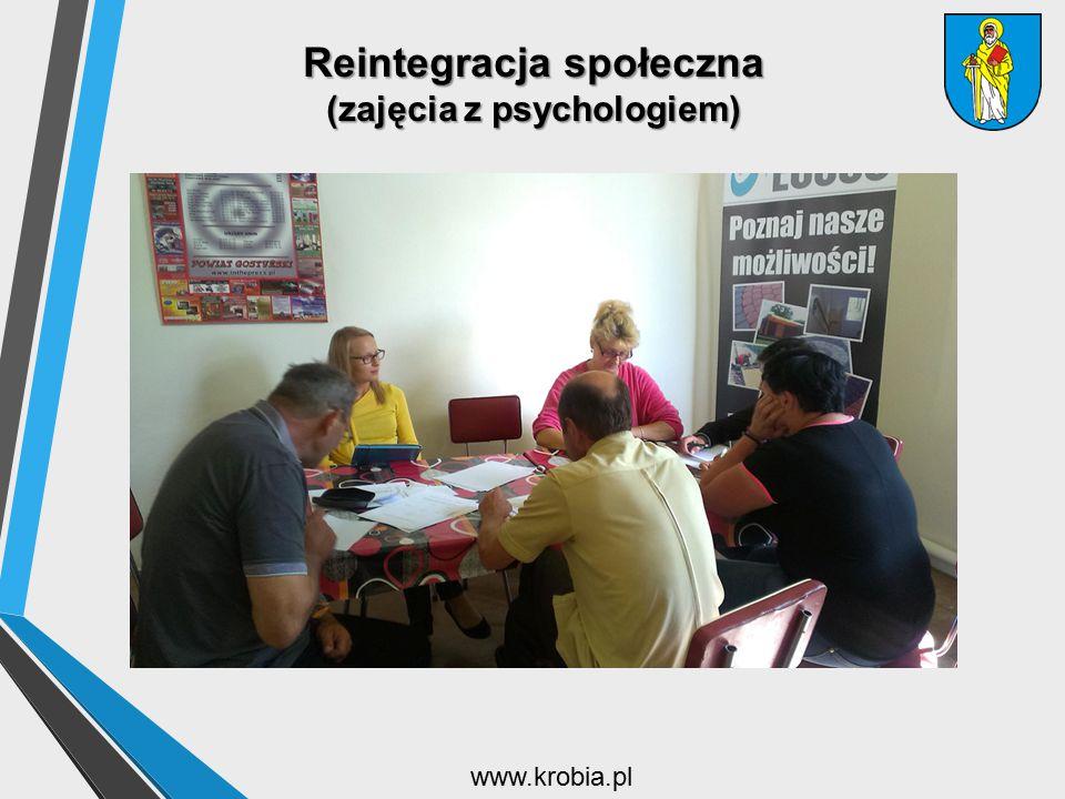 Reintegracja społeczna (zajęcia z psychologiem)