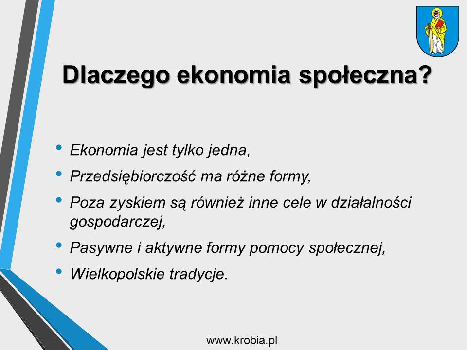 Dlaczego ekonomia społeczna