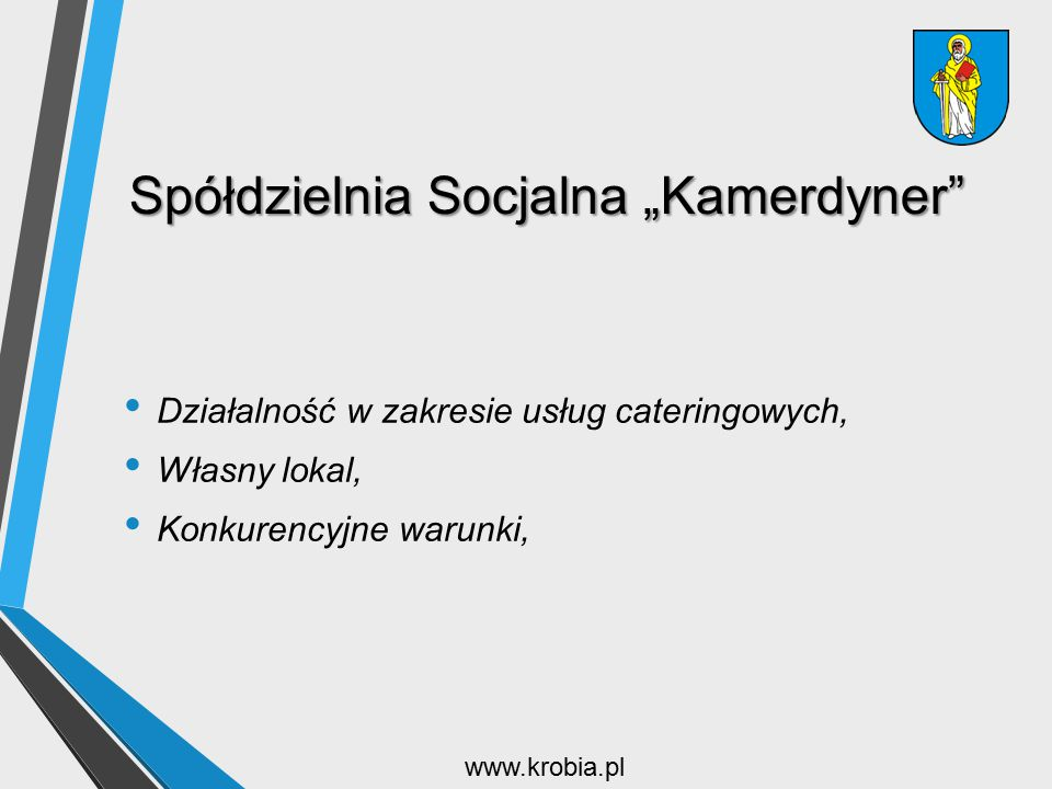 """Spółdzielnia Socjalna """"Kamerdyner"""