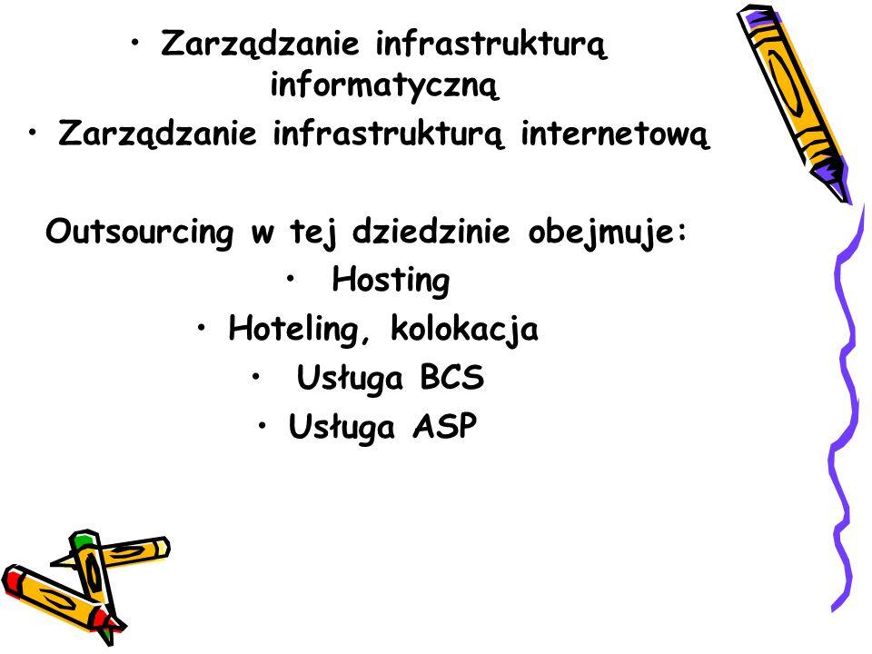 Zarządzanie infrastrukturą informatyczną