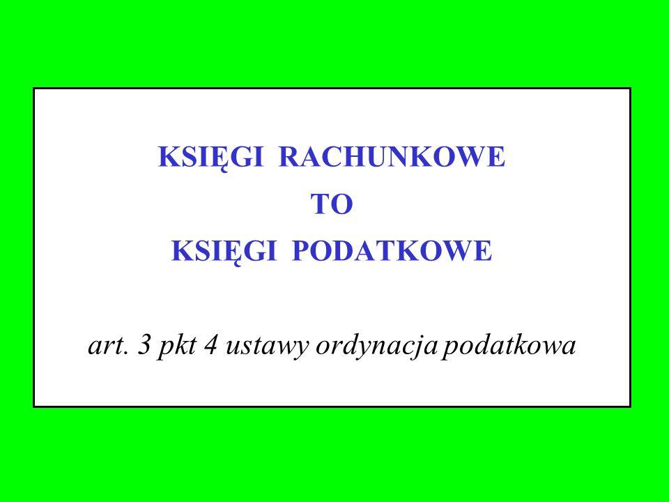 art. 3 pkt 4 ustawy ordynacja podatkowa