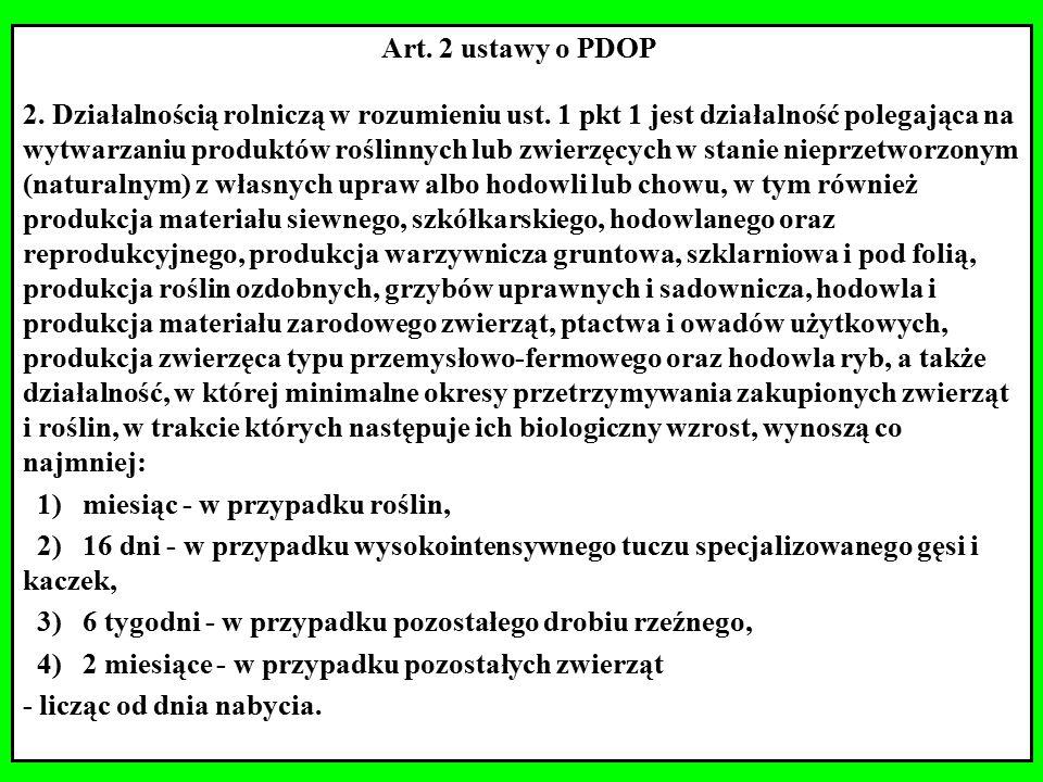 Art. 2 ustawy o PDOP