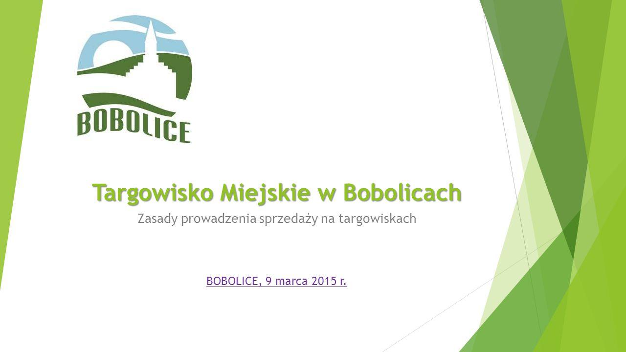Targowisko Miejskie w Bobolicach