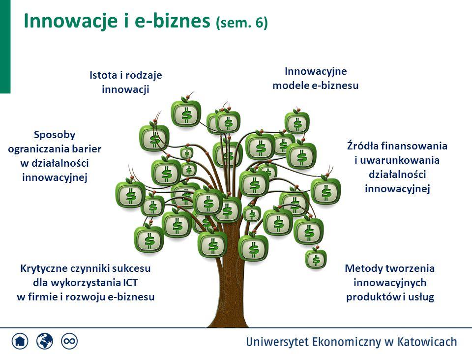 Innowacje i e-biznes (sem. 6)