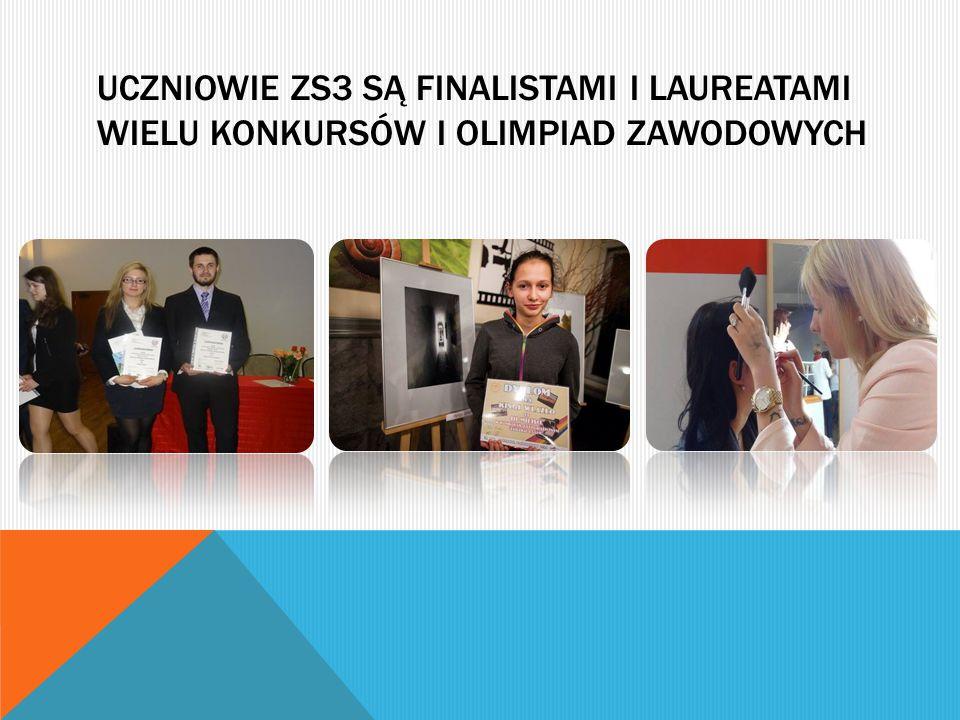 Uczniowie zs3 są finalistami i laureatami wielu konkursów i olimpiad zawodowych