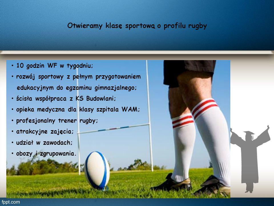 Otwieramy klasę sportową o profilu rugby