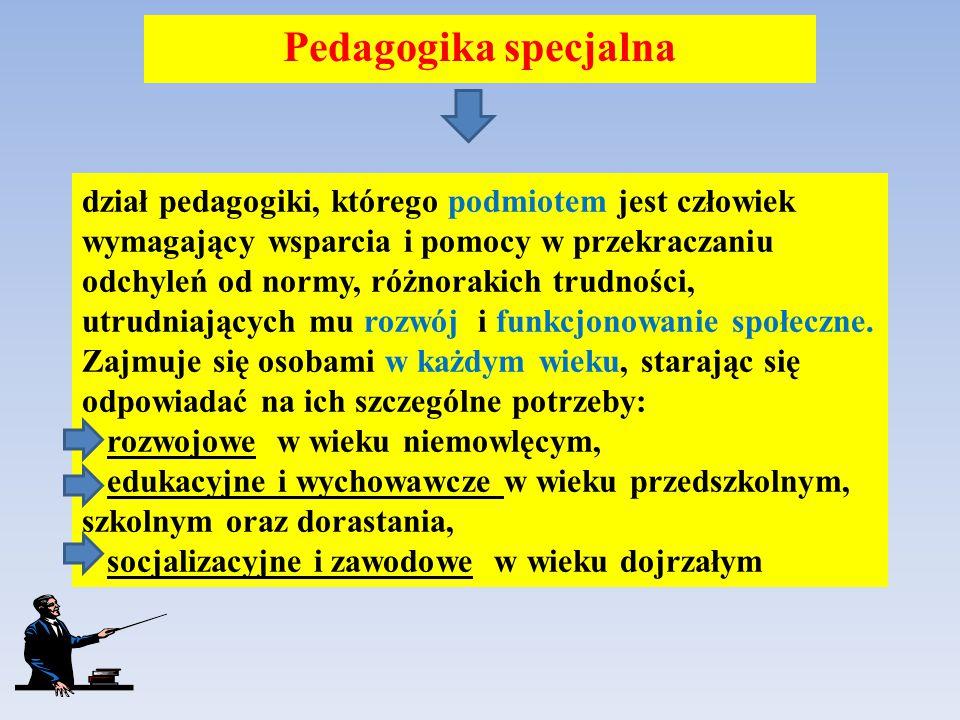 Pedagogika specjalna