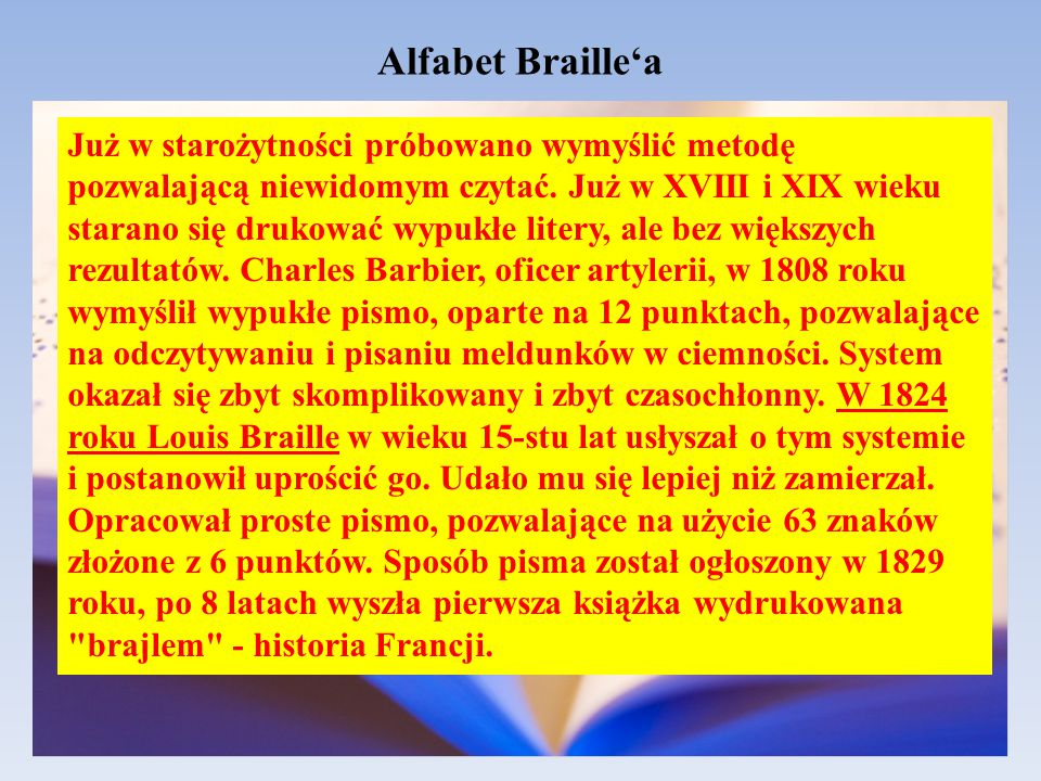 Alfabet Braille'a