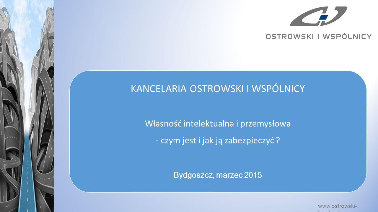 KANCELARIA OSTROWSKI I WSPÓLNICY