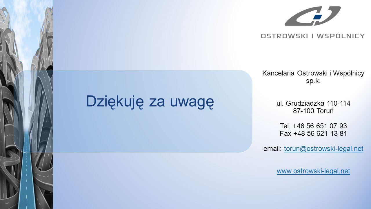 Kancelaria Ostrowski i Wspólnicy sp.k.