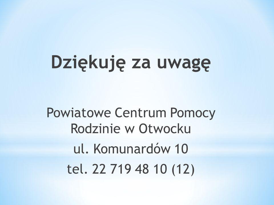 Powiatowe Centrum Pomocy Rodzinie w Otwocku