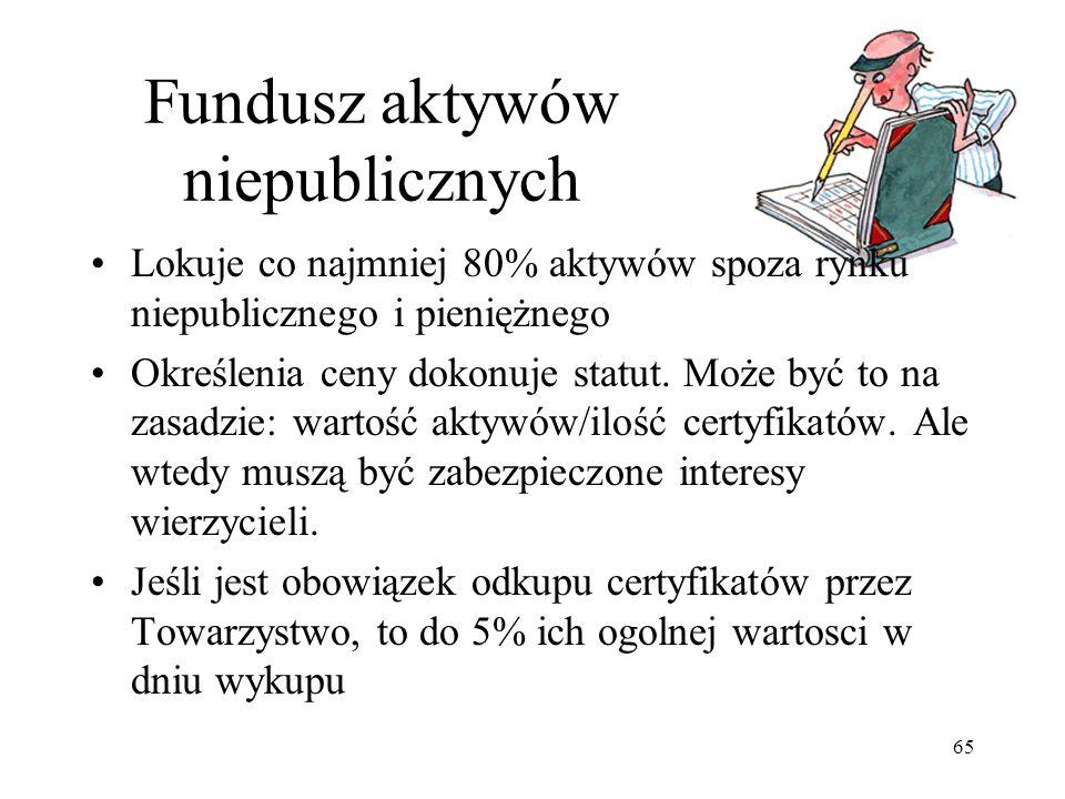 Fundusz aktywów niepublicznych