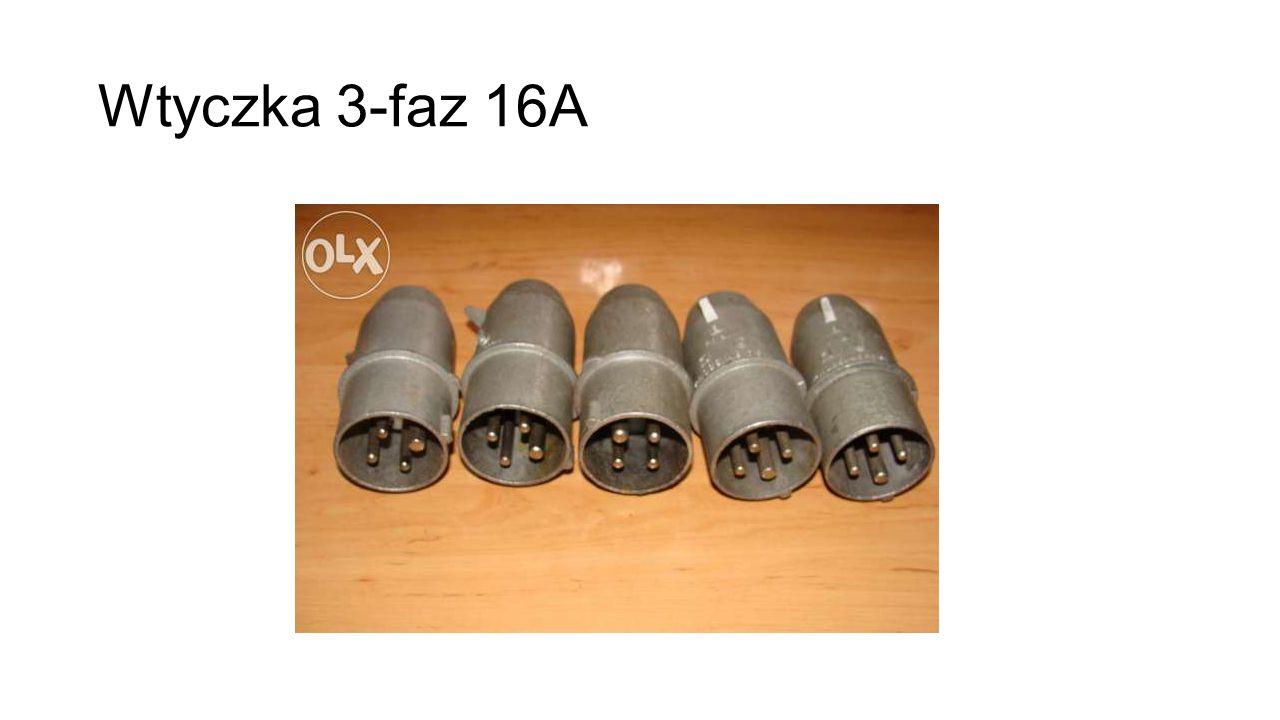 Wtyczka 3-faz 16A