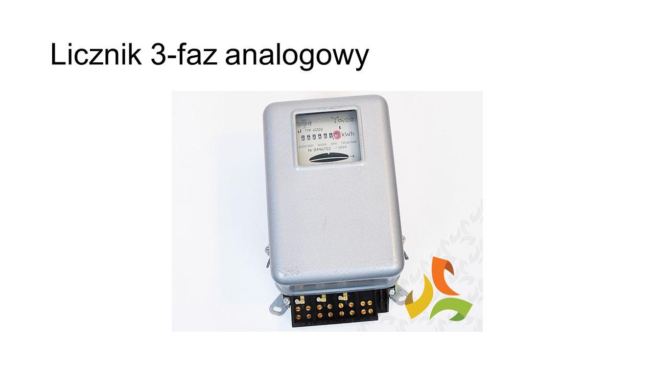 Licznik 3-faz analogowy
