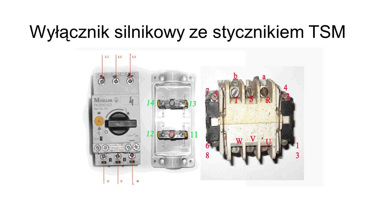Wyłącznik silnikowy ze stycznikiem TSM