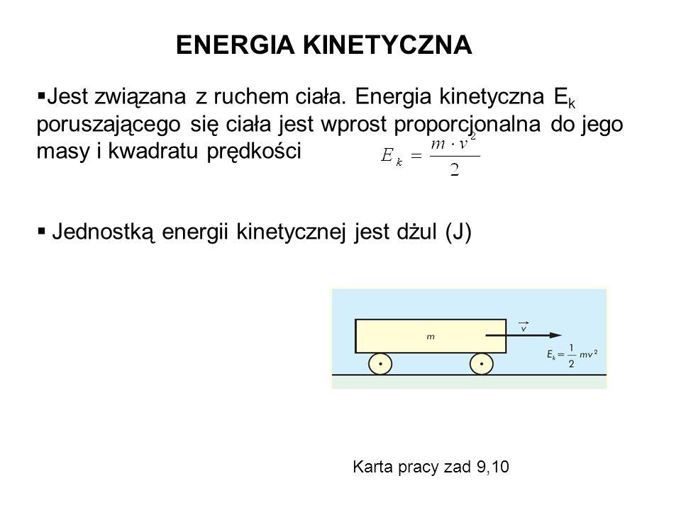ENERGIA KINETYCZNA