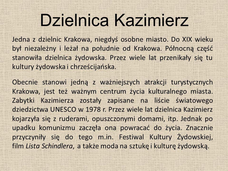Dzielnica Kazimierz