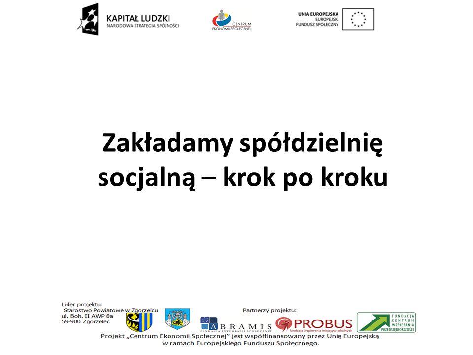 Zakładamy spółdzielnię socjalną – krok po kroku