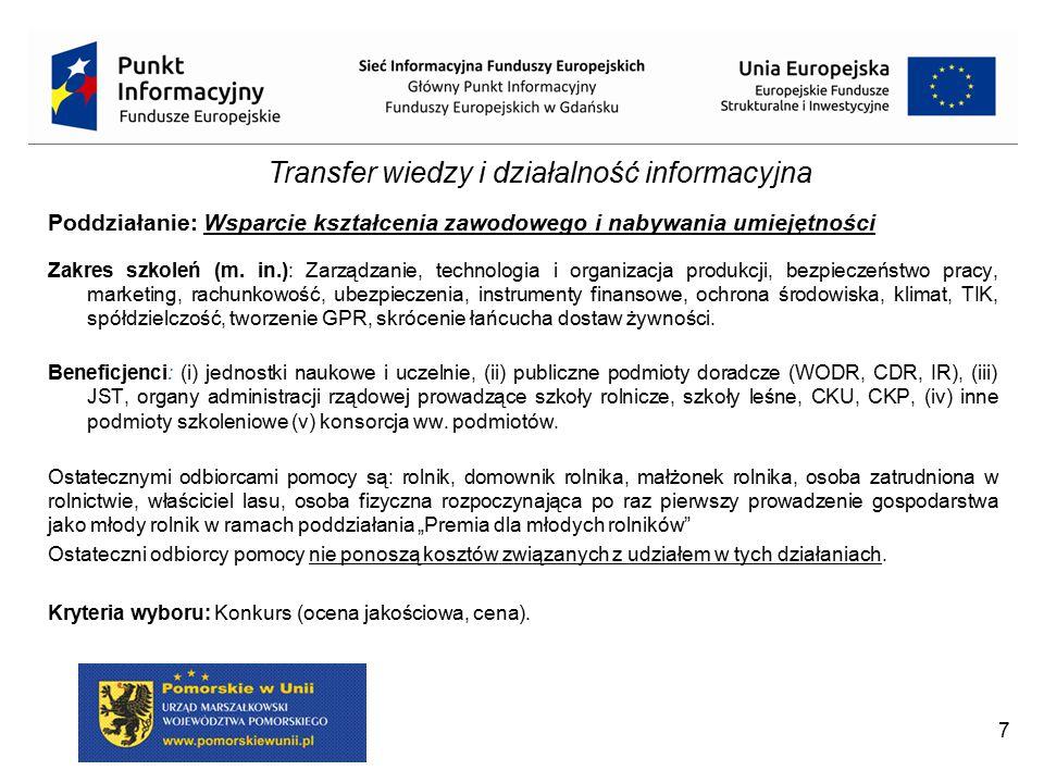 Transfer wiedzy i działalność informacyjna