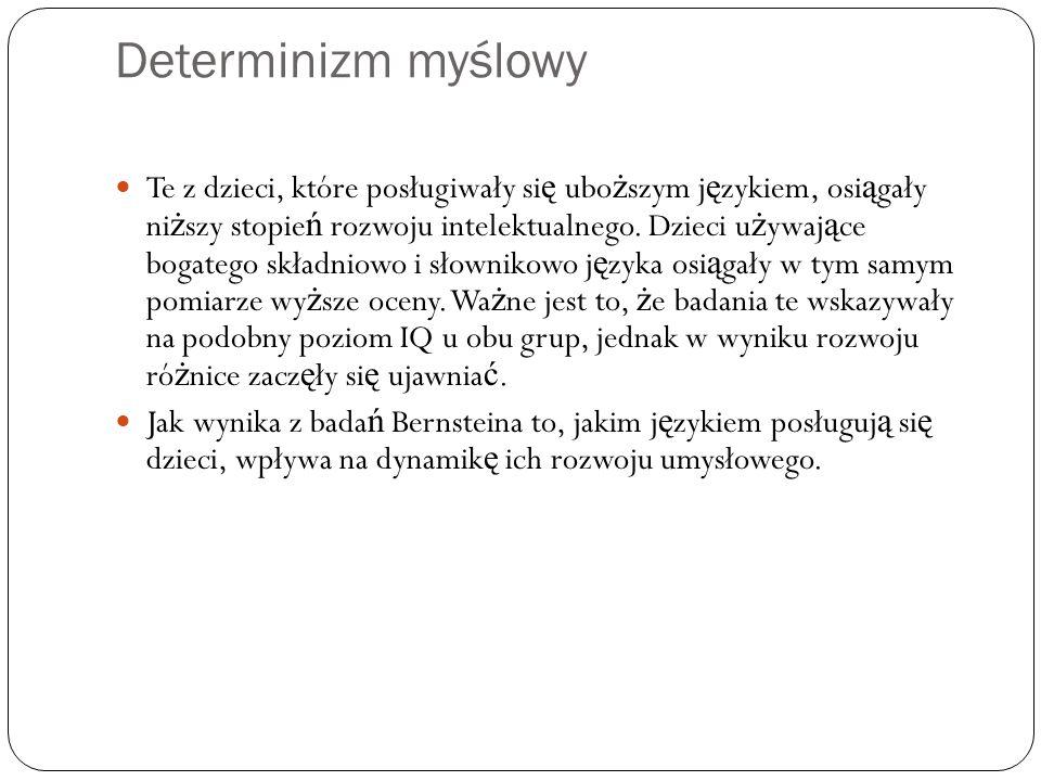 Determinizm myślowy