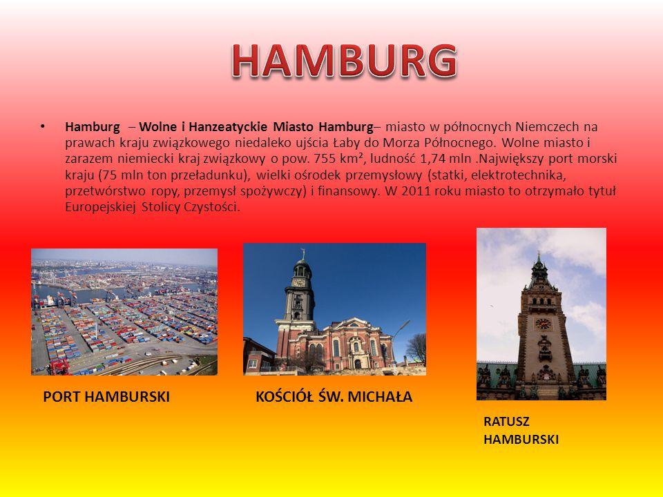 HAMBURG PORT HAMBURSKI KOŚCIÓŁ ŚW. MICHAŁA