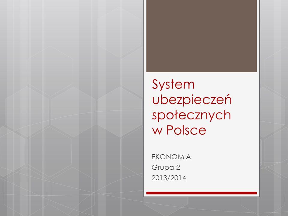 System ubezpieczeń społecznych w Polsce