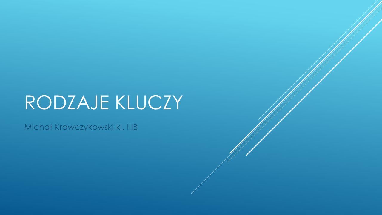 Michał Krawczykowski kl. IIIB