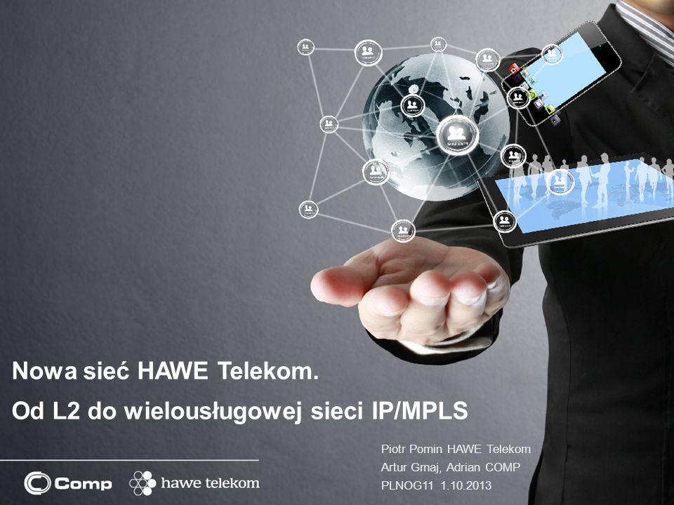 Od L2 do wielousługowej sieci IP/MPLS