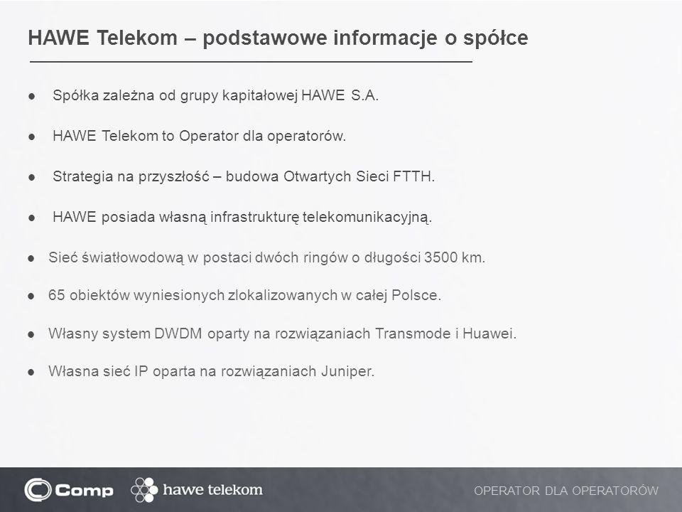 HAWE Telekom – podstawowe informacje o spółce