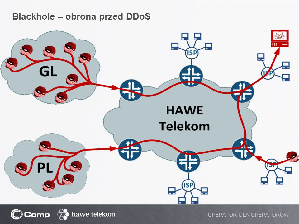 Blackhole – obrona przed DDoS