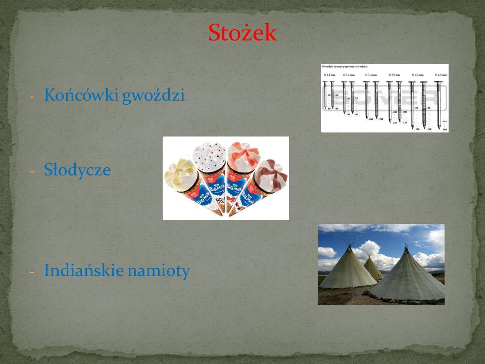 Stożek Końcówki gwoździ Słodycze Indiańskie namioty