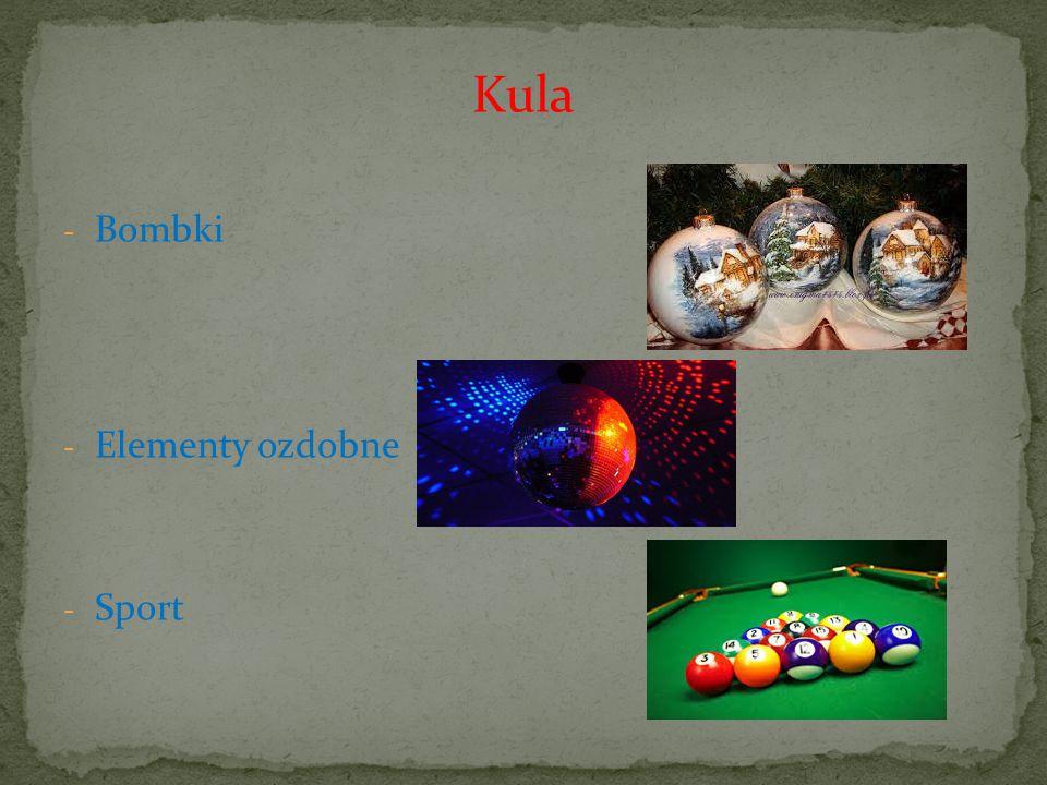 Kula Bombki Elementy ozdobne Sport