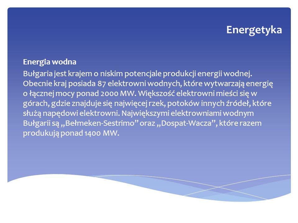 Energetyka Energia wodna