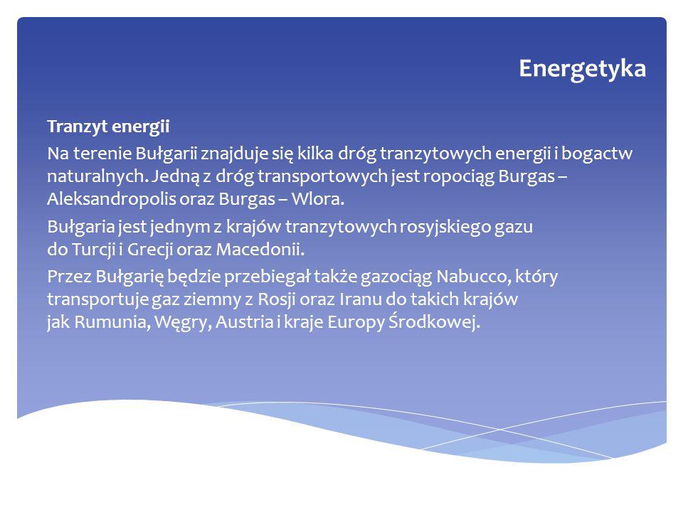 Energetyka Tranzyt energii