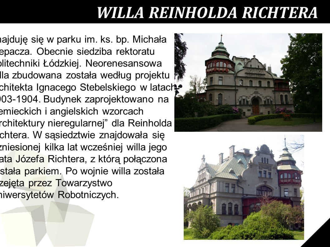 WILLA REINHOLDA RICHTERA