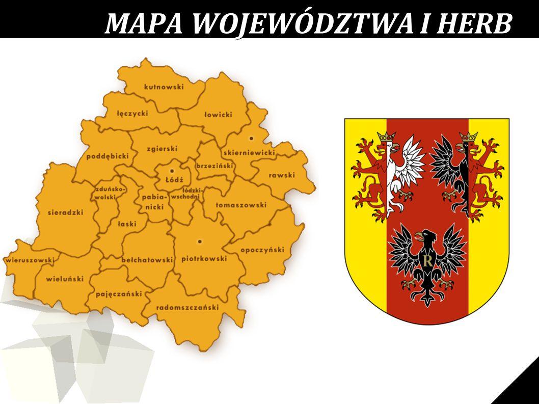 MAPA WOJEWÓDZTWA I HERB